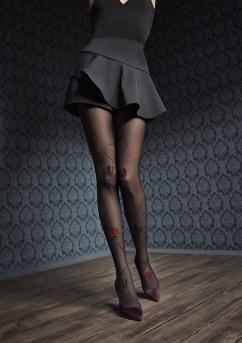 Колготки с эффектным рисунком Marilyn Gucci G44 40 den