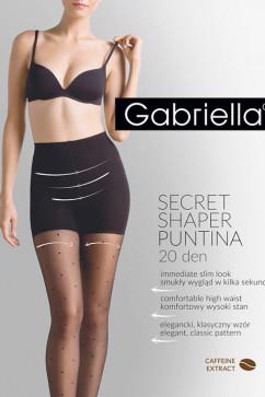 Колготки с утягивающими шортиками Gabriella Shaper Puntina 20 den