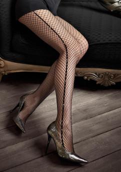 Колготки в крупную сеточку Marilyn Gucci G46