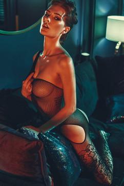Комбинезон с вырезами для секса Anais Elodi
