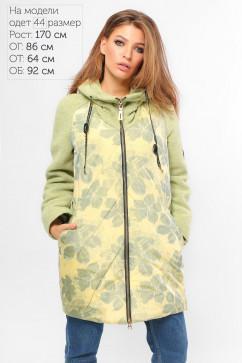 Куртка демисезонная с цветочным принтом LiPar 6256