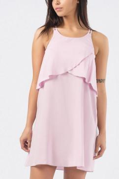 Летнее платье на тонких бретелях Carica KP-10160