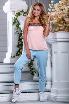 Летние брюки с лампасами Seventeen 2681