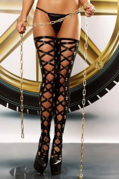 Чулки «шнуровка» Lolitta Bizarre stockings