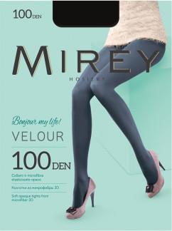Матовые колготки из микрофибры Mirey Velour 100 den