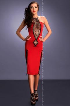 Страстное платье с волнующими шнуровками Me Seduce Maxima red