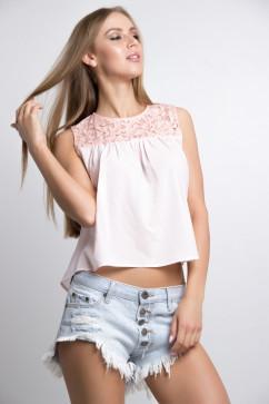 Модная блузка без рукавов Tales Juna