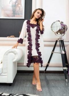 Модный халат из бамбука Effetto 03144