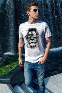 Мужская футболка Oldisen Лев