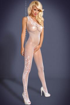 Бодистокинг Obsessive  Bodystocking F203 white