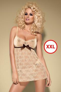 Карамельный бэбидолл XXL Obsessive Caramella babydoll