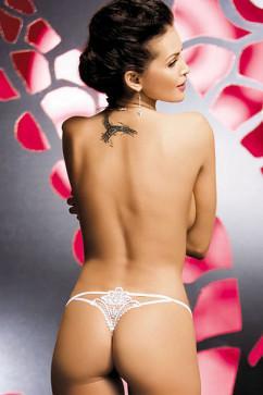 Трусики-стринги Luiza  с сексуальным кружевным узором сзади