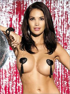 Наклейки для груди Obsessive Tassel nipple covers