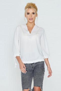 Однотонная блуза Nenka 594