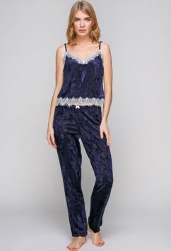 Пижама из мягкого велюра Serenade 5004