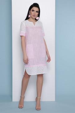 Платье Glem Сати к/р