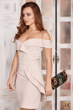 Платье короткое со шлейфом Domenica Р 2410