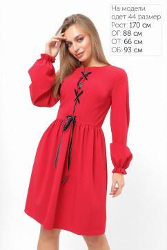 Платье с имитацией корсета LiPar 3314
