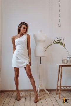 Платье с открытым плечом Domenica Р 2597