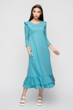 Платье с воланами A-Dress 70972