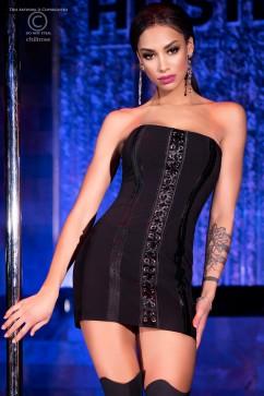 Платье со шнуровкой корсетного типа ChiliRose CR-4301