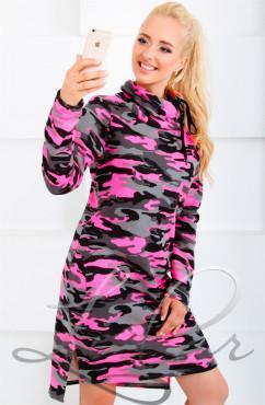 Платье-туника из трехнитки на флисе LiPar 688