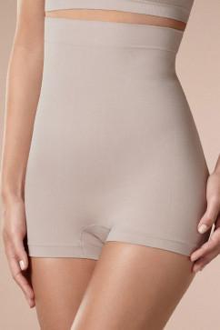 Корректирующие шорты с высокой талией на силиконе Plie 50099