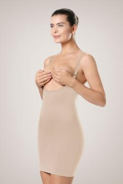 Утягивающее платье с открытым бюстом Plie 50422