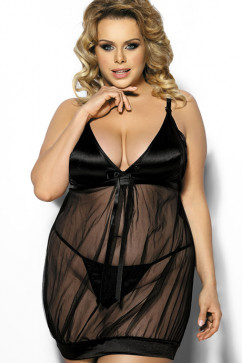 Прозрачное платье-сорочка Anais Solange