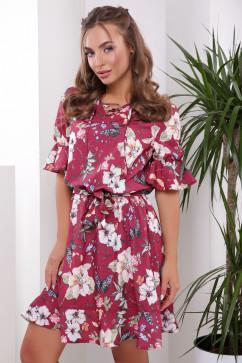 Романтичное платье с цветочным принтом MarSe 1778