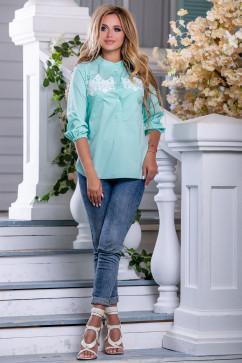 Рубашка с расширенным к низу рукавом Seventeen 2657
