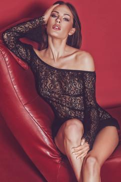 Секси платье с узором Anais Poppie