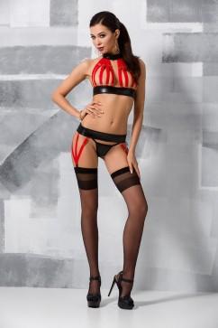 Сексуальный комплект из стреп-лент Passion Aziza