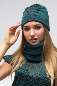 Шапка и снуд The First Land of Fashion ТШГ 2862