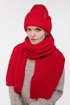 Шапка и шарф Sewel BA006