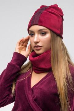 Шапка и снуд The First Land of Fashion ТШГ 2861