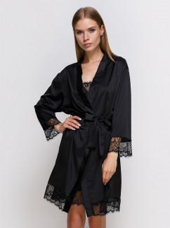 Шелковый халат с поясом Serenade 701