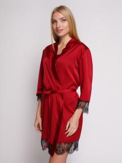 Шелковый халат Serenade 805