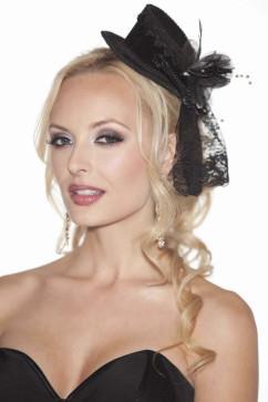 Черная шляпка Shirley of Hollywood 909