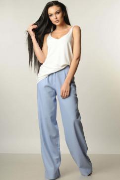 Широкие-прямые брюки от бедра Ри Мари Шер-Лён