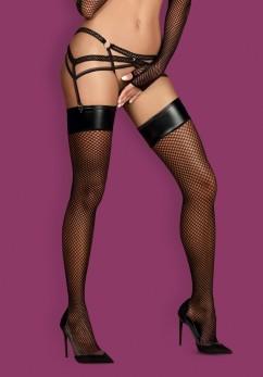 Эротические чулки Obsessive Darkie stocking