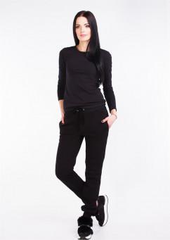 Спортивные брюки флис на манжете Losinelli В00435