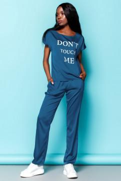 Спортивный костюм из шелковой ткани Jadone Fashion Милена