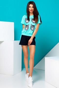 Спортивный костюм с шортами Jadone Fashion Элли