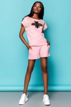 Спортивный костюм с шортами Jadone Fashion Пурино с шортами