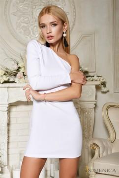 Стильное однотонное платье Domenica Р 61