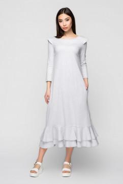 Стильное трикотажное платье с крылышками A-Dress 70971