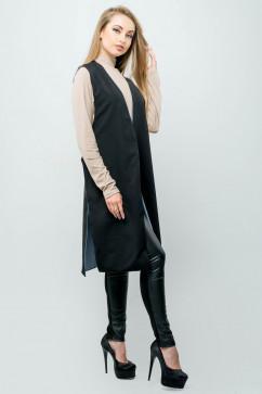 Стильный молодежный жилет-накидка Olis-style Лойк