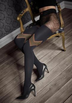 Теплые фантазийные колготки Marilyn Gucci G48 60 den
