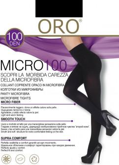 Теплые и комфортные колготы Oro Micro 100 den